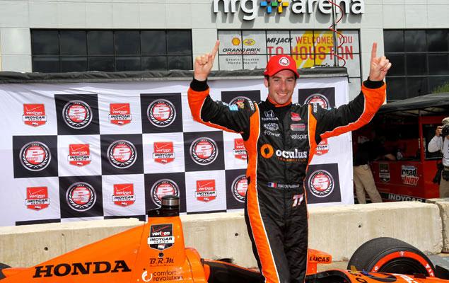 Passage réussi en IndyCar avec Honda chez Schmidt Peterson Motorsport.