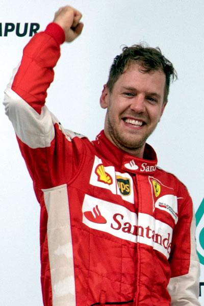 Vettel-portret